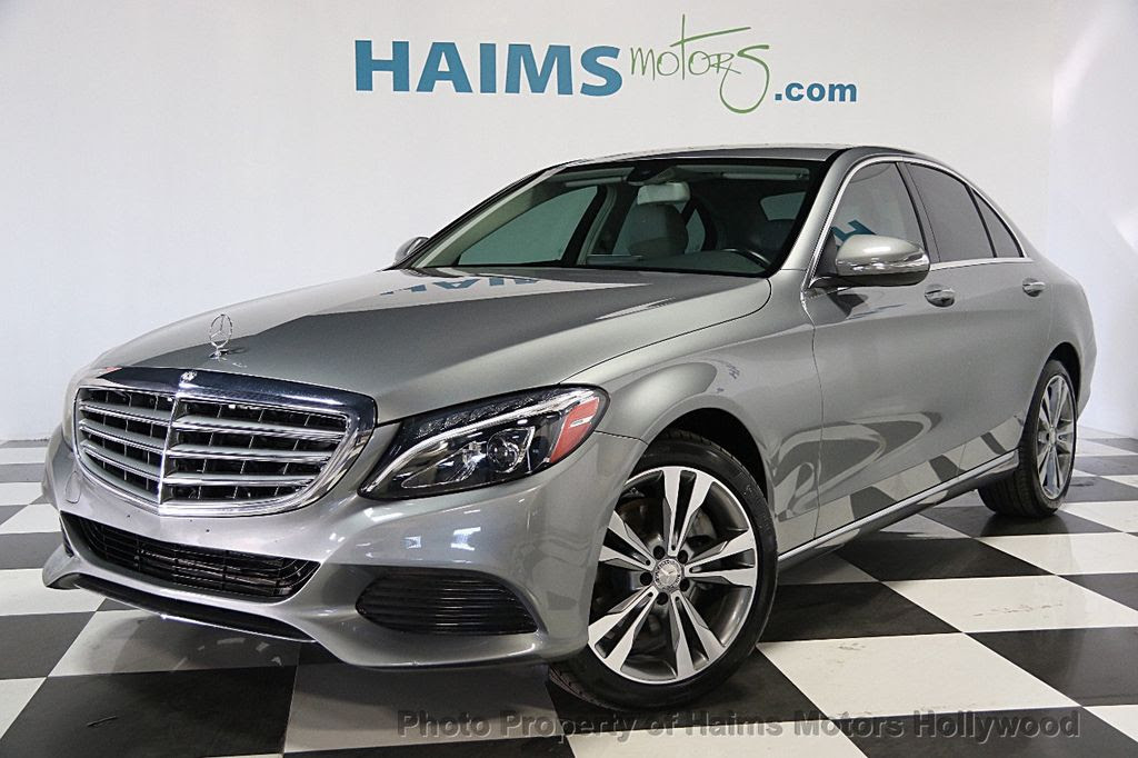 2015 Used Mercedes-Benz C-Class 4dr Sedan C300 RWD at ...