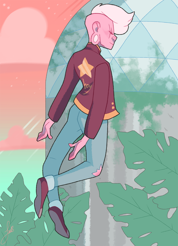 Tried something new today! Actually a little happy with this one. My space prince Lars
