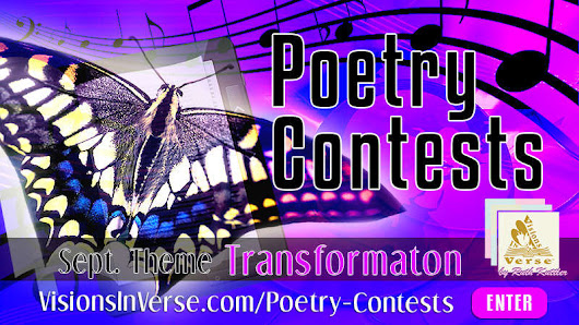 Enter September 2016 Creative Writing Poetry Contest on Visions in Verse