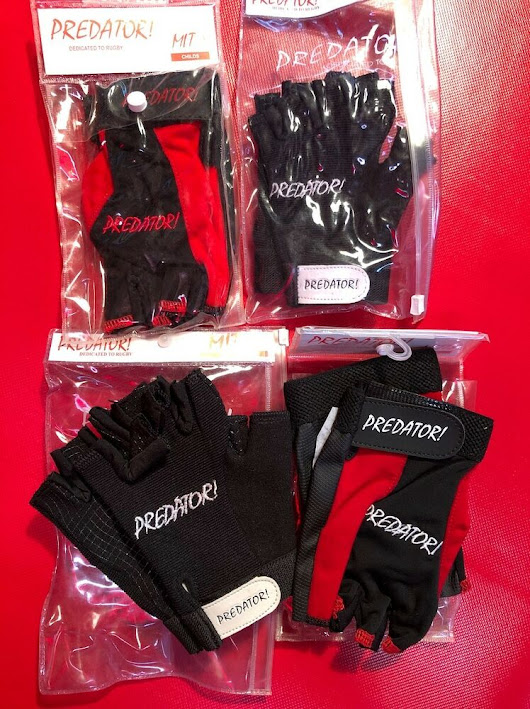 Details about Predator! Rugby Gloves ( x 10 Child, Youth, Boys, Girls)