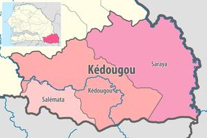Departments Of Senegal Wikipedia
