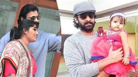 Actor Prabhas family photos   Bahubali actor Prabhas