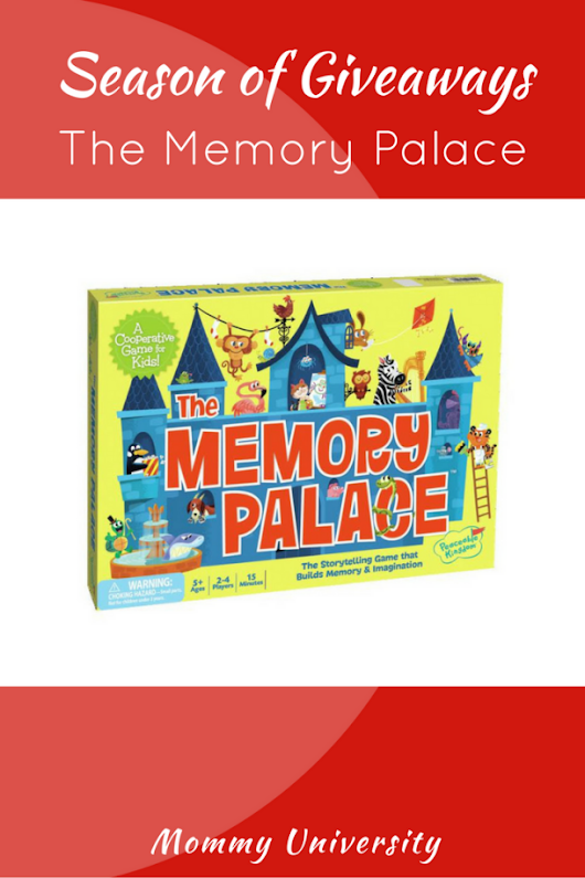 Season of Giveaways: The Memory Palace | Mommy University