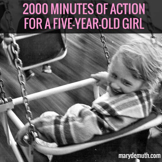 2000 Minutes of Action | Mary DeMuth
