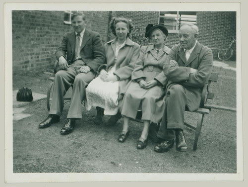 Group on bench