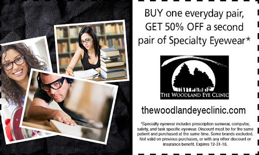 Promotions | The Woodland Eye Clinic
