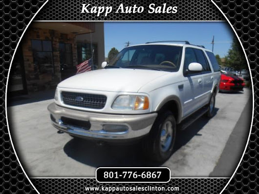 Used 1998 Ford Expedition Eddie Bauer 5.4L 4WD for Sale in Clinton UT 84015 Kapp Auto Sales