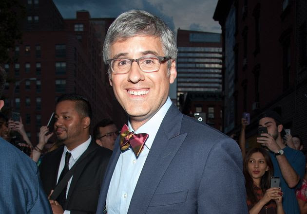 "<span class='image-component__caption' itemprop=""caption"">Mo Rocca, an openly gay TV reporter and comic, read from the Bible at Pope Francis' Mass at Madison Square Garden in New York City on Friday.</span>"