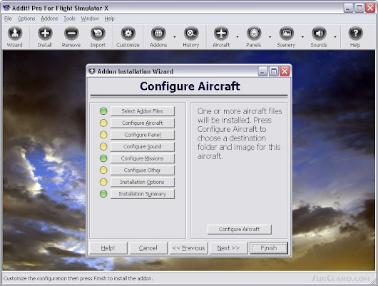 FSX Addon Manager Utility V7.5.8 Addit! Pro P3D Utilities (21489)