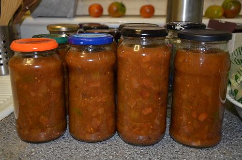 green tomato chutney Sept 13