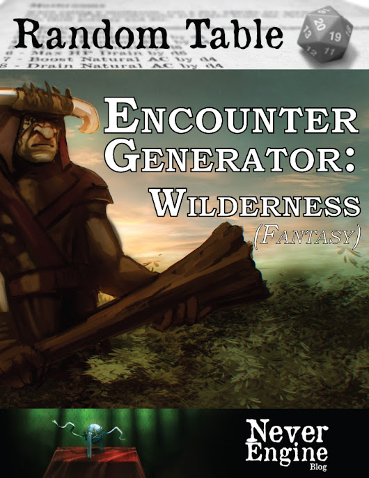 Encounter Generator – Wilderness (Fantasy)