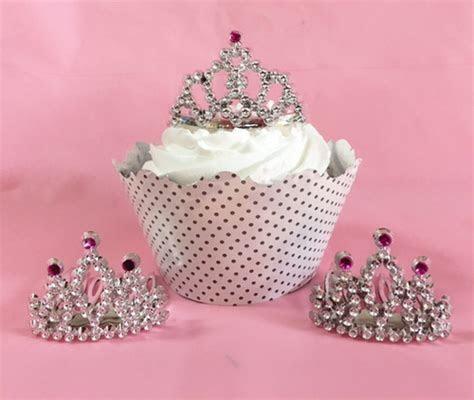 Mini Tiara Cupcake Topper (pkg of 12)