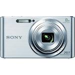 Sony Cyber-Shot DSC-W830 20.1 MP Compact Digital Camera - 720p - Silver