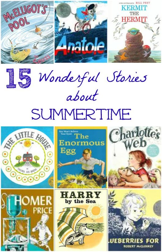 Kids Books that Celebrate the Joy of Summertime
