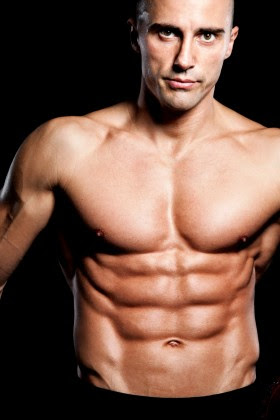 around what body fat percentage to see abs