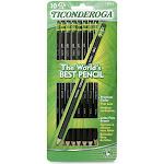 Dixon Ticonderoga No. 2 Pencil Soft 10/CD Black 13915