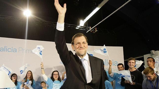 Resultado de imagen de Rajoy en 2012