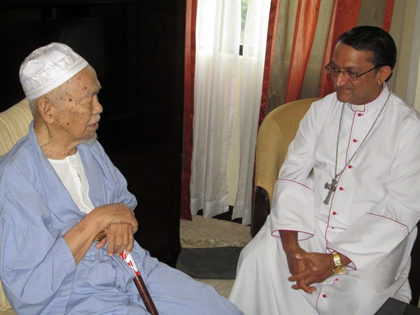 """I will pray for your health,"" Bishop Sebastian assures Tok Guru."
