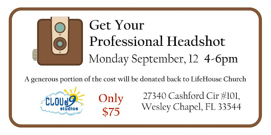 Life House Church-Headshot Fundraiser