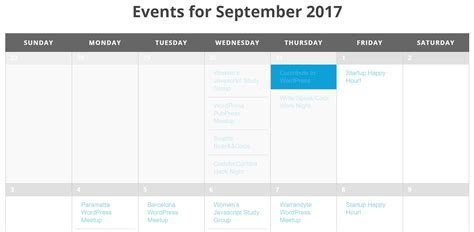 Wordpress Events Calendar Plugin Free   Qualads