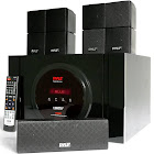 Pyle PT589BT Bluetooth 5.1 Channel Home Theater System with Surround Sound Speakers