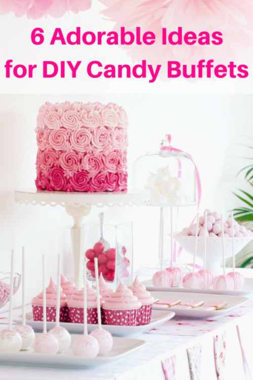 6 Adorable Ideas for DIY Candy Buffets - An Alli Event - HMLP 121 Feature