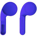 Upgrade design Silicone Earmuffs for Oculus Quest 2 VR Headsets A Enhancing Sound Solution For Quest 2 (1 Pair) Australia / Blue