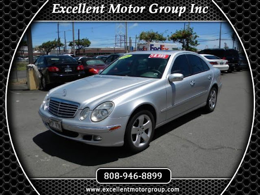Used 2006 Mercedes-Benz E-Class E500 for Sale in Honolulu HI 96817 Excellent Motor Group Inc