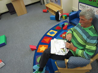 Charles Pollak in Day Care Room