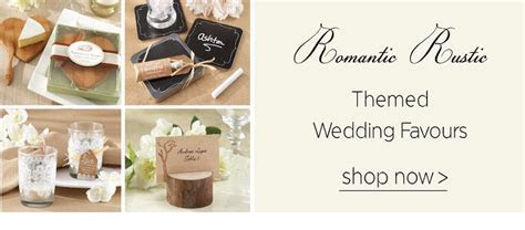 Wedding Favours and Thank You Gifts in South Africa