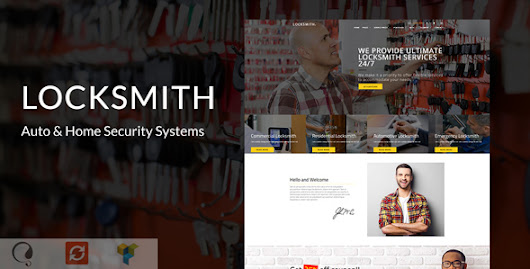Locksmith - Auto & Home Security Systems - Theme88.Com – Free Premium Nulled Cracked Themes & Plugins & PHP Scripts and More