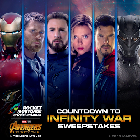 Countdown to Infinity Sweepstakes: