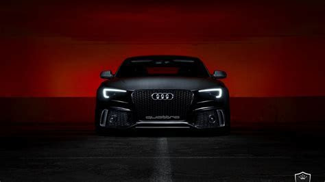 1366x768 Black Audi S5 desktop PC and Mac wallpaper