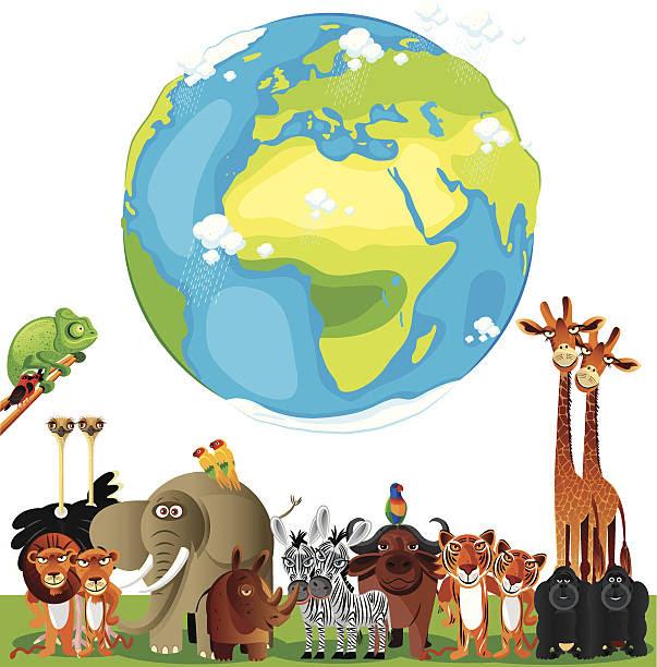 ケニア アフリカの角 のスマホ壁紙 Id 158097962 動物イラストの世界