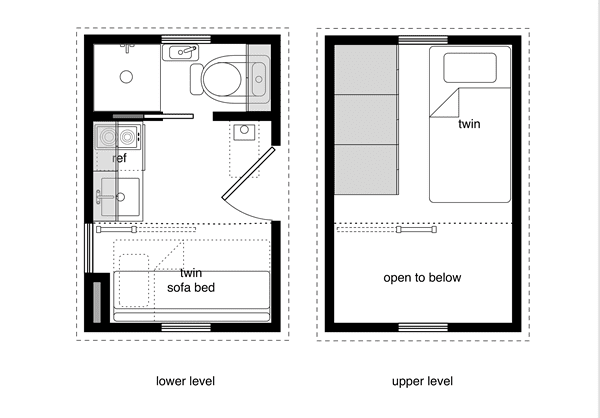 8x12 Tiny House Floor Plans House Plan