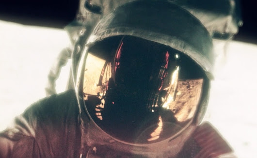 Stunning short film about the Apollo moon landing made from astronauts' photos