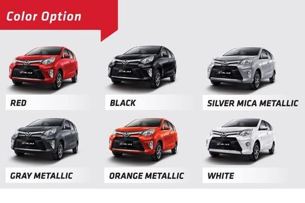 58 Terpopuler Warna Mobil Toyota Calya Warna Mobil