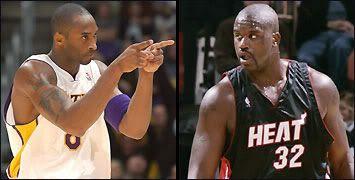 Kobe vs. Shaq.
