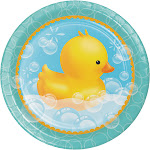 Bubble Bath 9 inch Round Dinner Plates/Case of 96