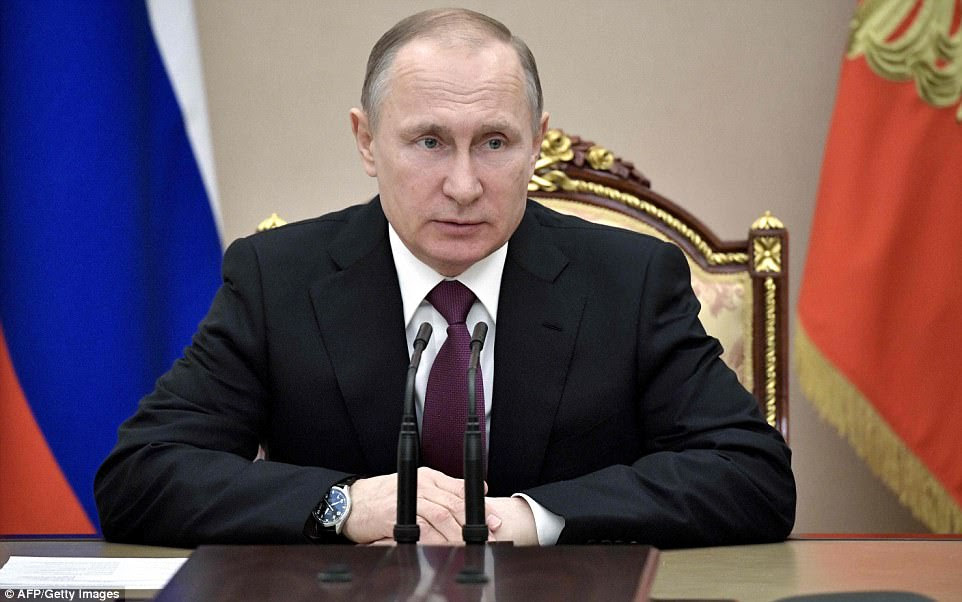 Vladimir Putin responded to the attack against his ally by diverting warship the Admiral Grigorovich to protect the Syrian coast and vowing to bolster Assad's missile defences against further bombing raids