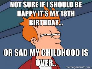 Funny 18th Birthday Quotes Kappit