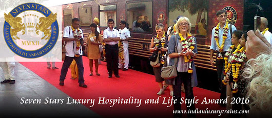 Maharajas Express once again wins Seven Star Luxury Hospitality and Lifestyle Award 2016