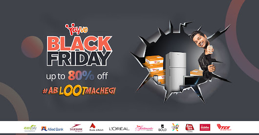 The Yayvo Black Friday Schedule & Offers are Here #AbLootMachegi