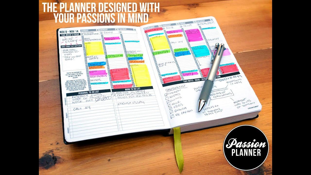 Passion Planner by Angelia Trinidad (Kickstarter Video 2014) - YouTube
