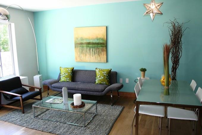 Warna Hordeng Ruang Tamu | Ide Rumah Minimalis