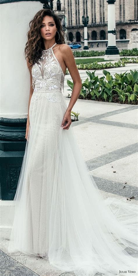 25  cute Halter wedding dresses ideas on Pinterest   High