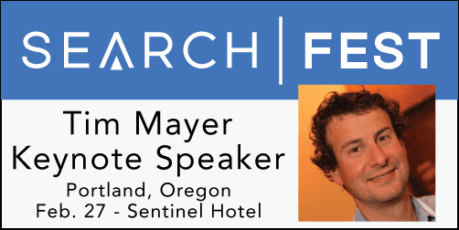 2015 SEMpdx SearchFest Keynote Interview: Tim Mayer | SEMpdx