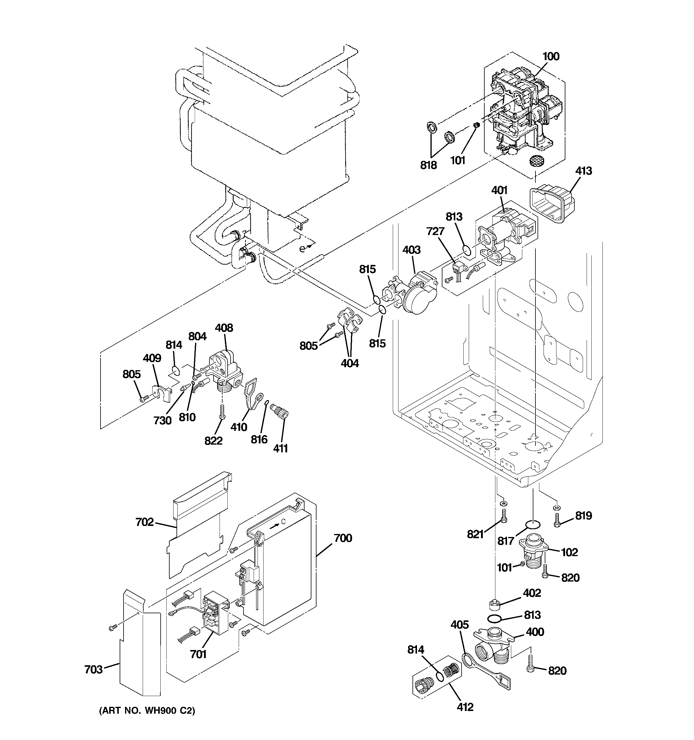 30 Ge Gas Water Heater Parts Diagram - Wire Diagram Source ...