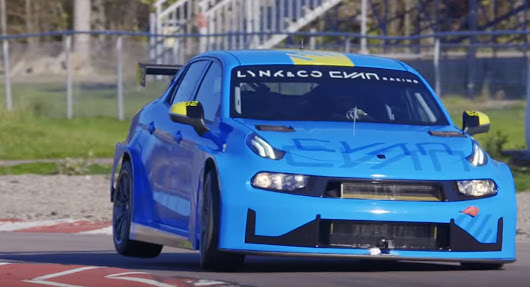 Watch Lynk & Co's 03 2019 TCR Racer Take To The Track | Carscoops