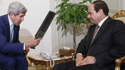 Why would Hamas negotiate with John Kerry after getting $47 million from him
